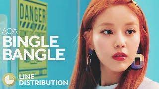 AOA - Bingle Bangle (Line Distribution)