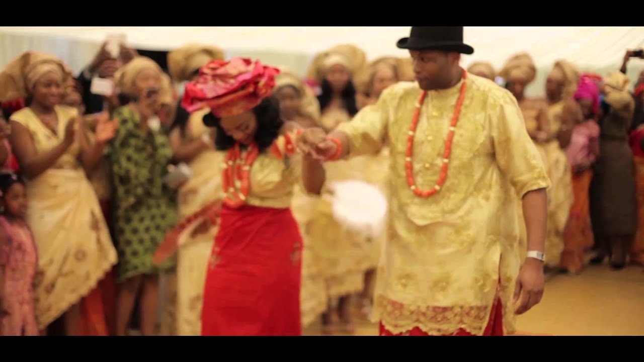 Marvin And Eve S Traditional Nigerian Urhobo Wedding