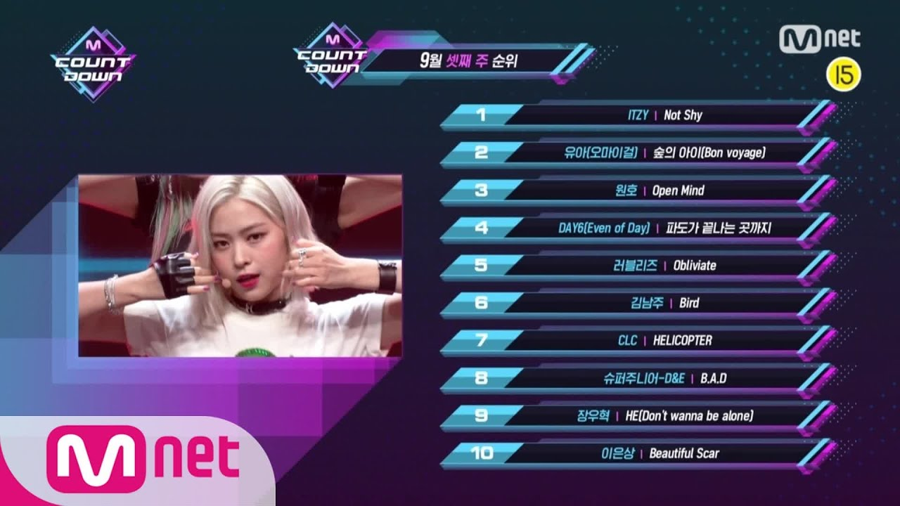 What are the TOP10 Songs in 3rd week of September? M COUNTDOWN 200917 EP.682