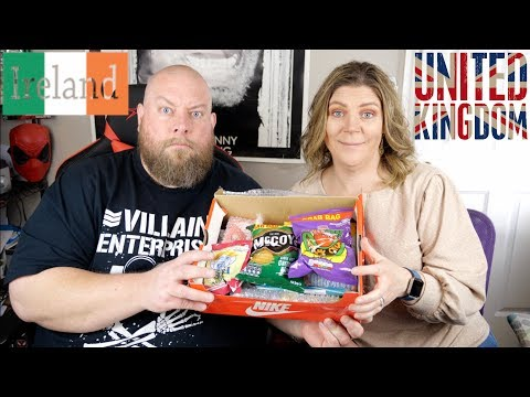 Taste Testing 4 POUNDS of Snacks from the UK & Ireland + Salt Sweets Treats