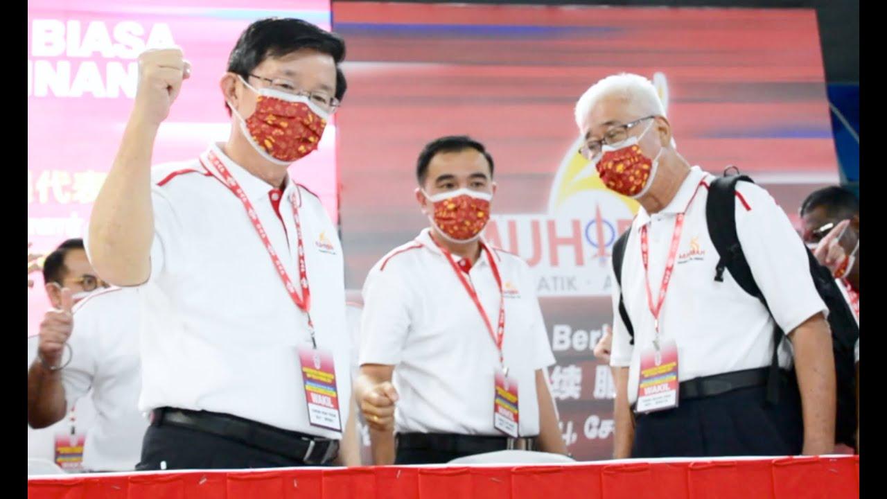 Chow Kon Yeow dapat undi tertinggi, menjadi Pengerusi DAP negeri sehingga 2024