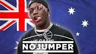 Lil Yachty gets real with Adam22 - Surprise Interview in Australia