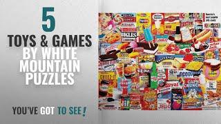 Top 10 White Mountain Puzzles Toys & Games [2018]: White Mountain Puzzles Things I Ate As A Kid -