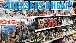 2018 LEGO Star Wars Sets CHEAP AT WALMART! + Other LEGO Deals! | MandRproductions LEGO Vlog!
