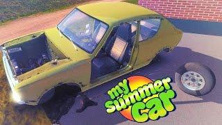 My Summer Car — СИМУЛЯТОР АВТОЛЮБИТЕЛЯ! СОБИРАЕМ ДВИГАТЕЛЬ!
