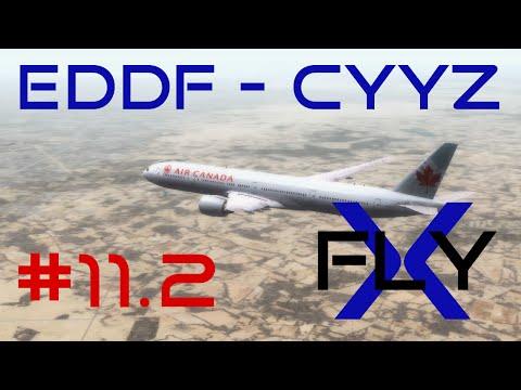 FlyX #11.2  Frankfurt - Toronto (ACA 77W) [FullHD]