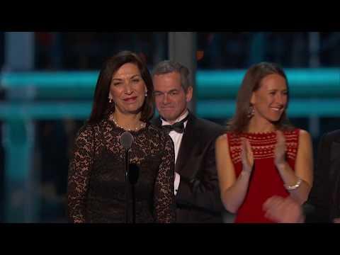 2017 Breakthrough Prize Ceremony: Huda Zoghbi, Anne Wojcicki, Sergey Brin