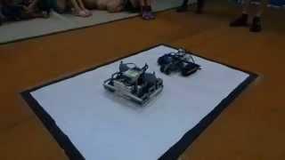 Сумо роботов, тренировки