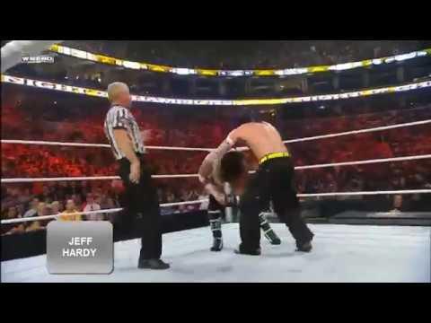 Jeff Hardy vs Cm Punk Night Of Champions 2009