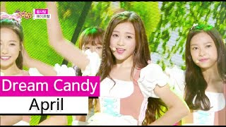 [HOT] April - Dream Candy, 에이프릴 - 꿈사탕 Show Music core 20150829