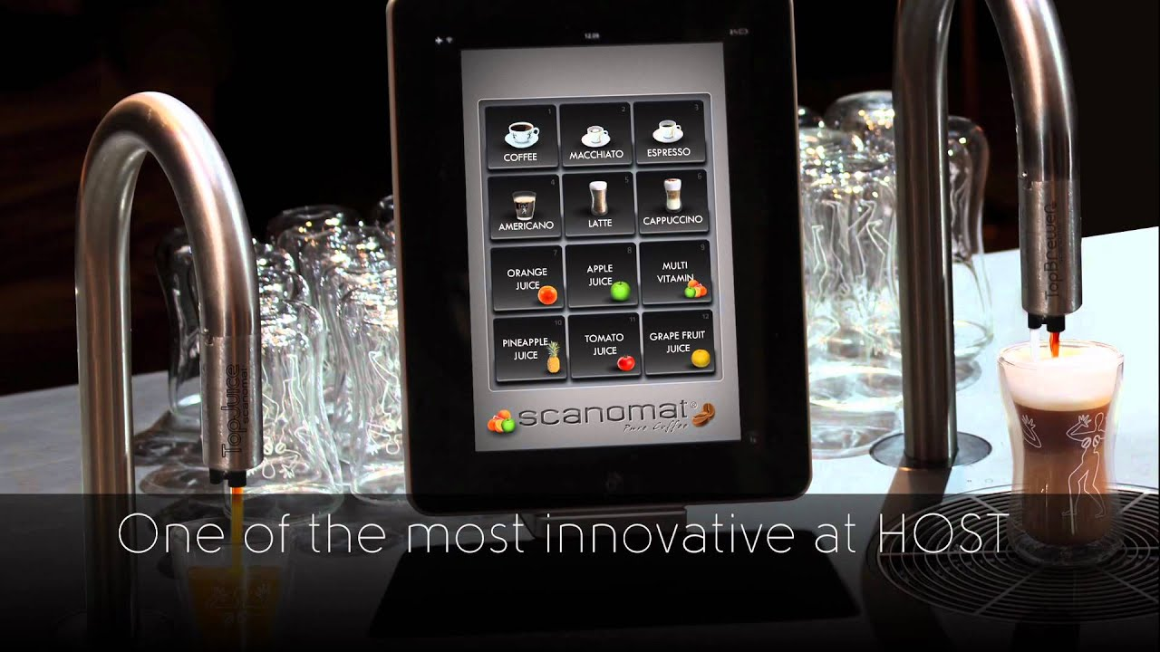 Top Brewer Reactions at HOST 2011 - by Scanomat - YouTube