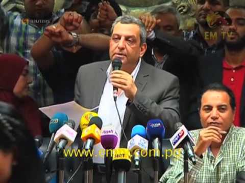 Egyptian Journalists Cry Foul