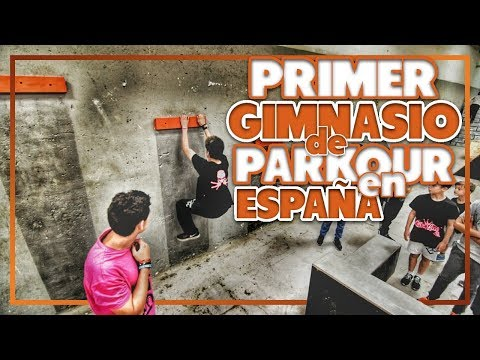 PRIMER GIMNASIO DE PARKOUR en Barcelona CON MIS FANS!!