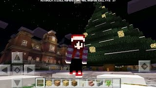 INCRÍVEL MAPA OCULTO DE NATAL DO MINECRAFT POCKET EDITION 0.17.0 (MASH - UP)