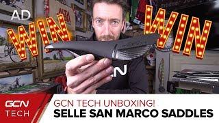 Download lagu Unboxing Selle San Marco Saddles | GCN Tech Unboxing