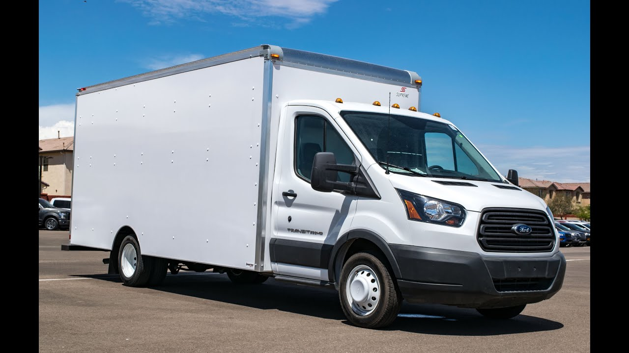Ford Transit Cutaway >> 2015 Ford Transit T-350 HD Supreme Spartan Cargo Van - YouTube