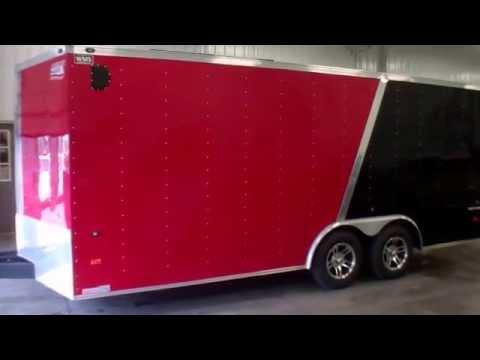 2013 American Hauler 8.5 x 18 Enclosed Cargo Trailer