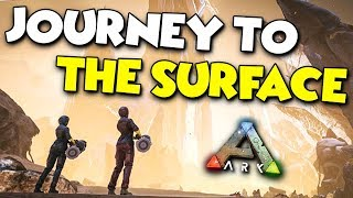 JOURNEY to the SURFACE - ARK Aberration Duo Survival Series #20