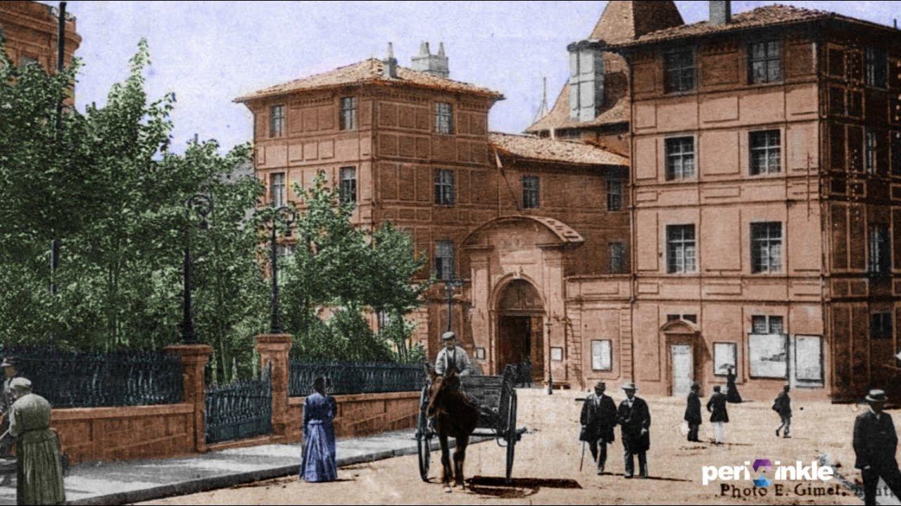 Montauban - Vieilles cartes postales colorisées - YouTube
