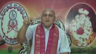 Brahma Sutramulu : Day 09 : CH03 Padam1 : Sutram 5 6 7 : Sri Chalapathirao