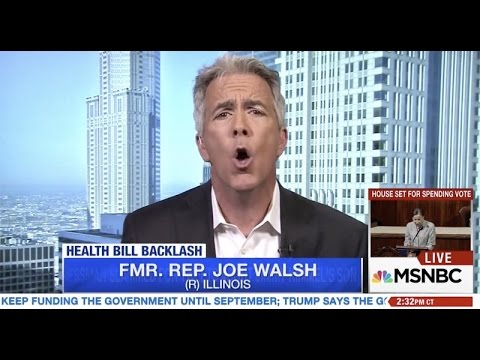 Joe Walsh: US Can't Have Medicare For All Because Of 'Diversity' & 'Inner Cities'
