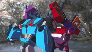 Transformers Robots in Disguise Thunderhoof vs Clampdown