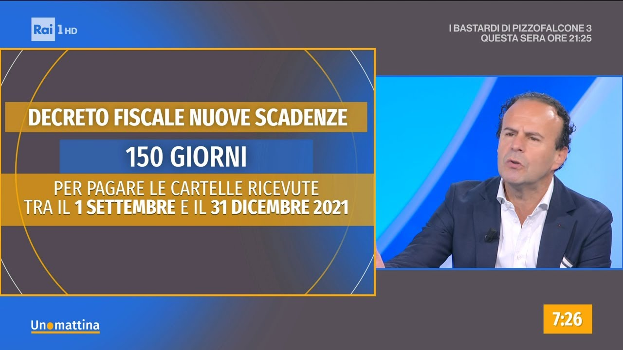 Fisco: nuova tabella di marcia per i pagamenti - Unomattina - 18/10/2021