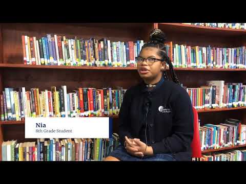 Meet Nia and find out what Serviam Girls Academy means to her.