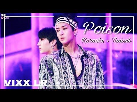 [KARAOKE + THAISUB] VIXX LR - Poison [Complete LR]