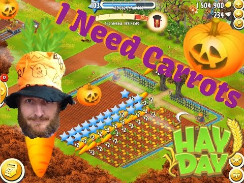 Hay Day - I Need Carrots - Chat and Play, Trucks and Help Tasks.