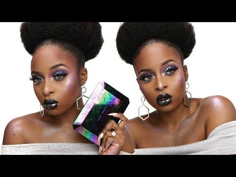 Fenty Beauty Galaxy Holiday Collection Makeup tutorial