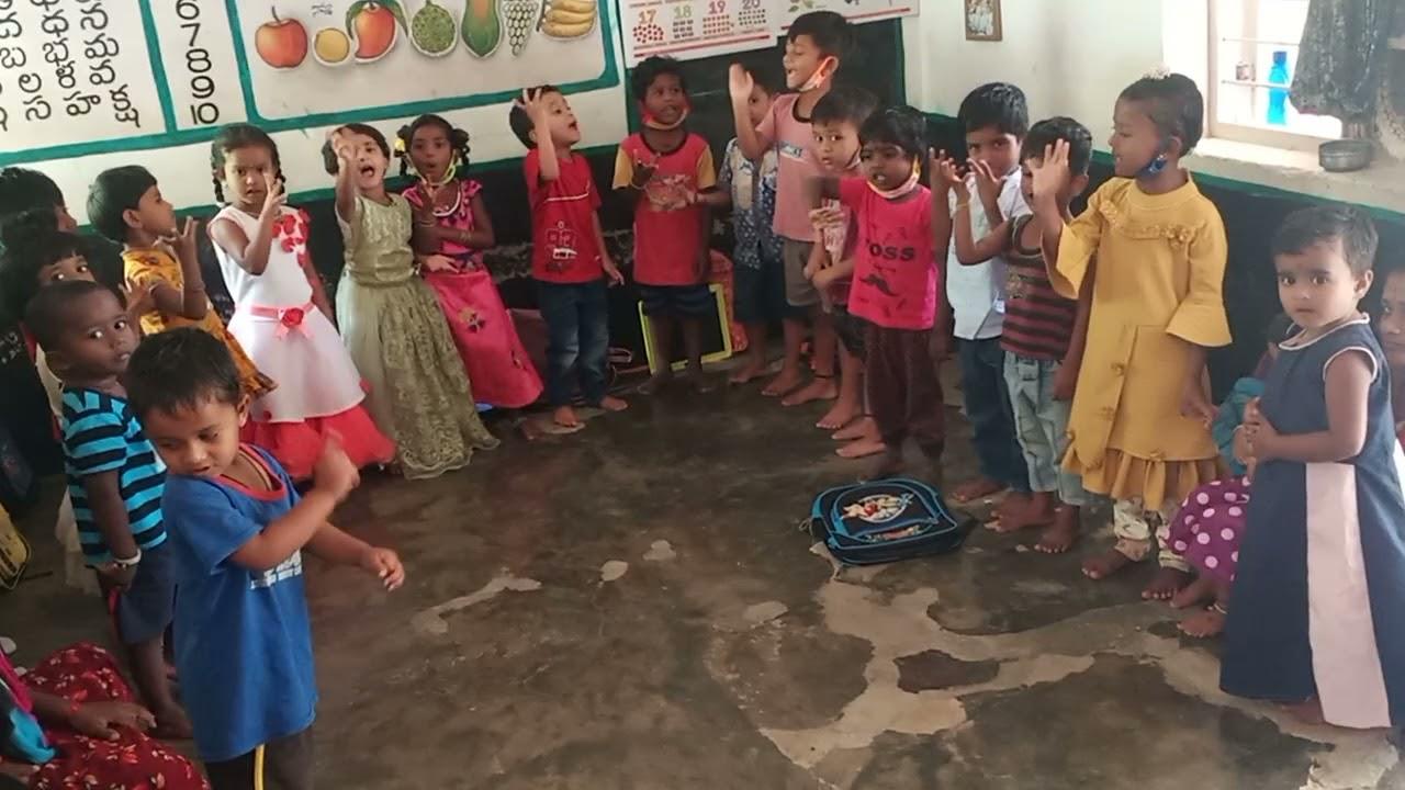 preschool songs in anganwadi - YouTube
