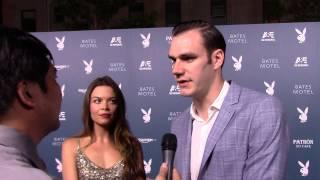 SDCC 2014: Carpet Interview with Cooper Hefner