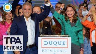 Iván Duque es el presidente electo de Colombia | #TPANoticias