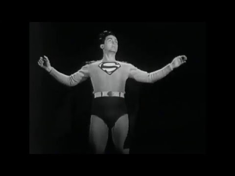 1950 Atom Man vs. Superman Serial Intro/Introduction
