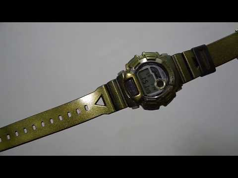 G-Shock DW-9500 Gold Defender MOD Watch
