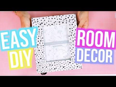 [VIDEO] - DIY Room Decor 2018! Cute and Easy Ideas For Teens | MyLifeAsEva 3
