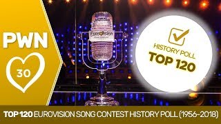 PWN #30: Top 120 Eurovision Song Contest History Poll (1956-2018)