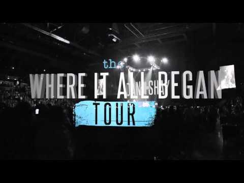 Where It All Began Tour Announcement
