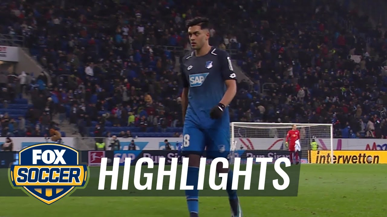 hoffenheim leipzig highlights