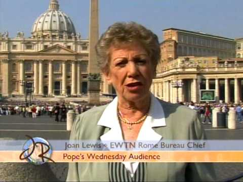 Joan's Rome - Pope's Wednesday Audience