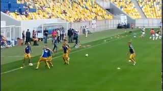 Україна 1:2 Англія (Жіноча збірна з футболу)