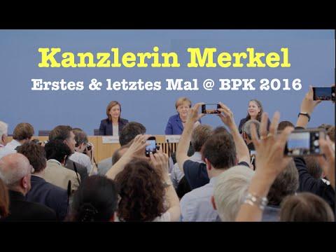 Kanzlerin returns: Angela Merkel in der Bundespressekonferenz - Komplett vom 28. Juli 2016