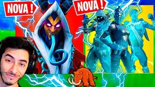PATRIOT SINGING SKIN KRAMPUS PACK FROZEN LEGENDS and HACKER TO FIND ITEN of the PATRI-Fortnite