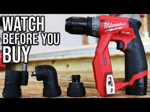 Milwaukee M12 FUEL Installation Drill/Driver Has Features You Don't Know About