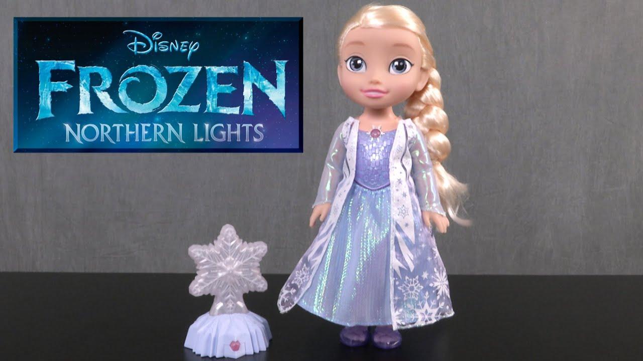 Disney Frozen Northern Lights Elsa From Jakks Pacific