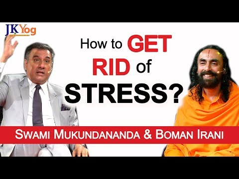 How to Get Rid of Stress? | Q/A with Swami Mukundananda and Boman Irani