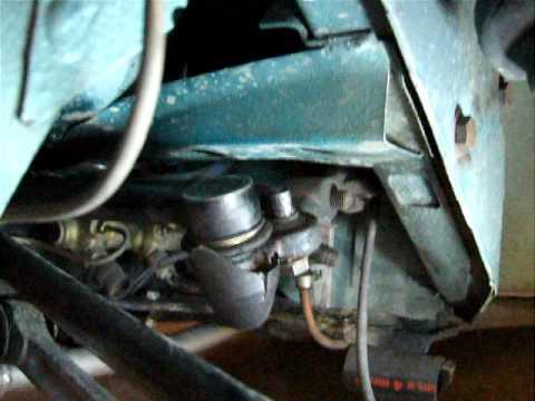 VW beetle steering damper bushing moving in the pitman arm