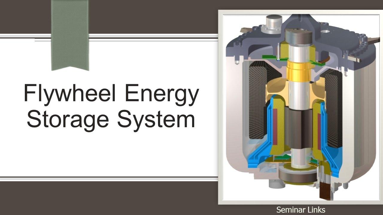 Flywheel Energy Storage System Youtube