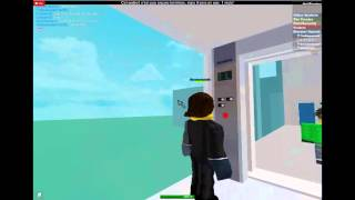 Elevator Trio! Siemens Traction Glass Elevators at Bejeweled's Amazing House on Roblox
